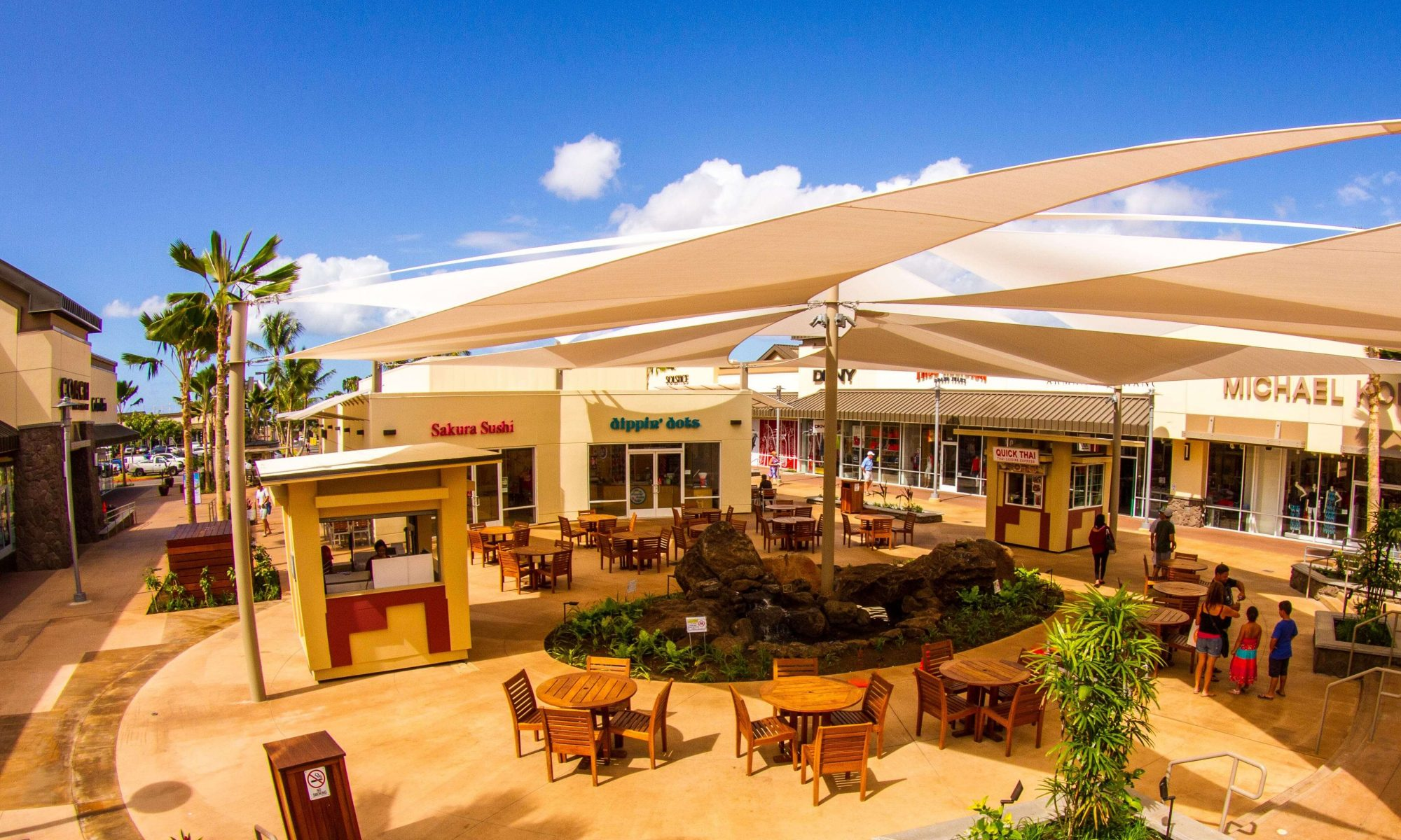 Food court at Waikele Premium Outlets