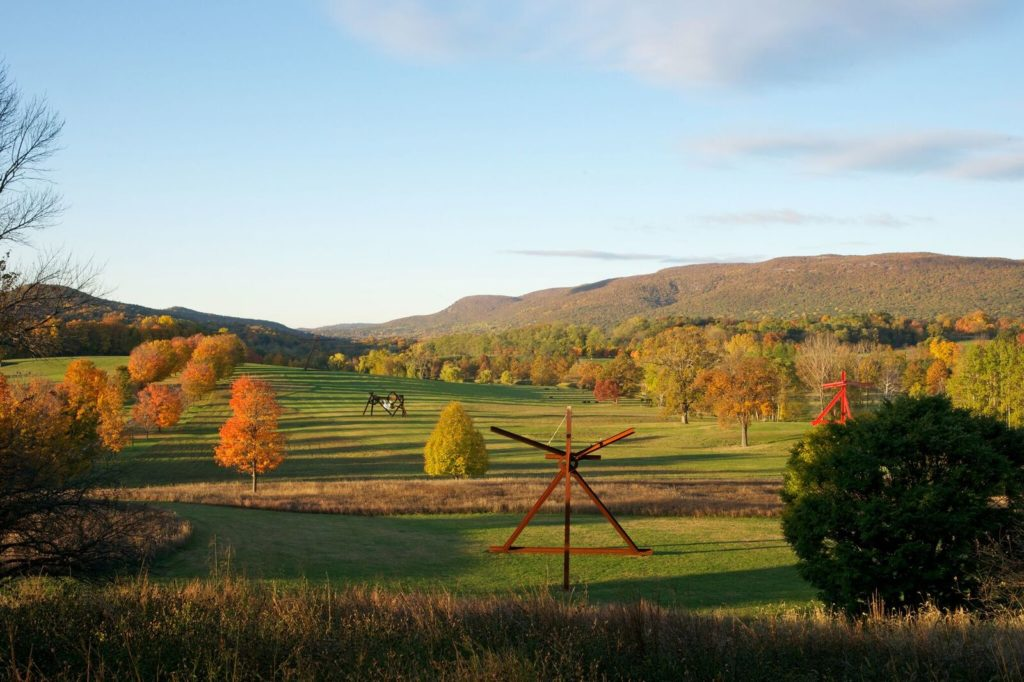 Afternoon sunset at Storm King