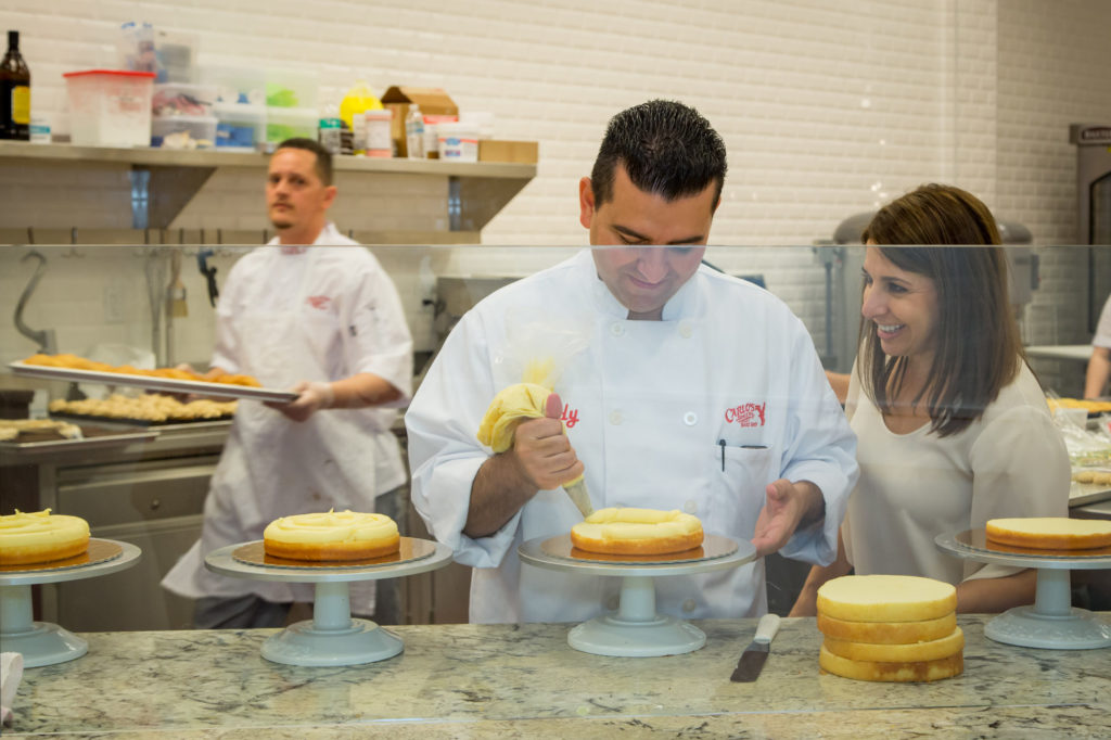 Buddy Valastro and sister